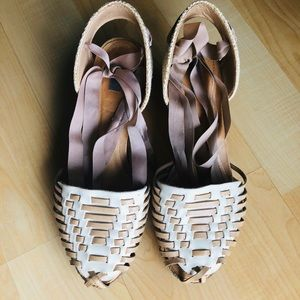 Schutz lace shoes